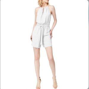 NWT💫 Bar III white halter sleeveless romper